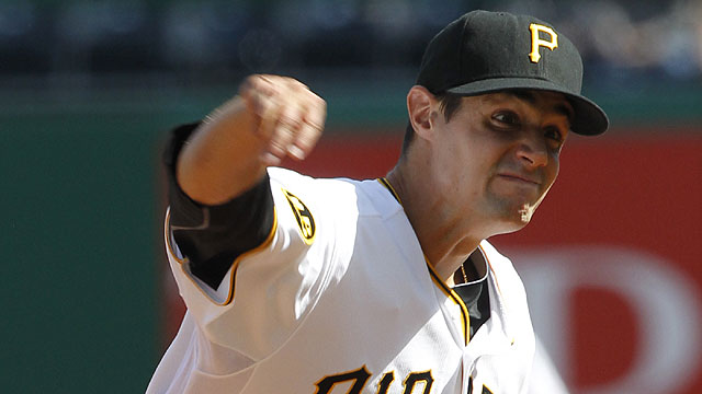 Pirates trade righty Martinez to Indians