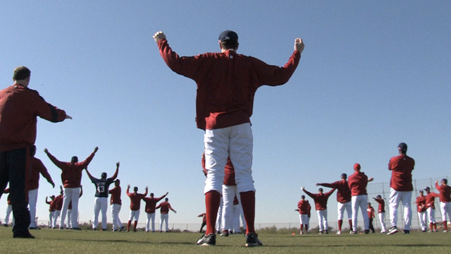 One month to go until pitchers and catchers