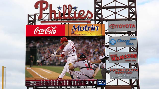 Phillies upgrading scoreboard with HD display