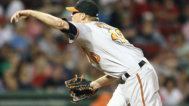 O's lefty Patton released from custody