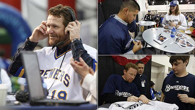 "MILWAUKEE -- Robin Yount will sign autographs Sunday at ""Brewers On Deck,"""