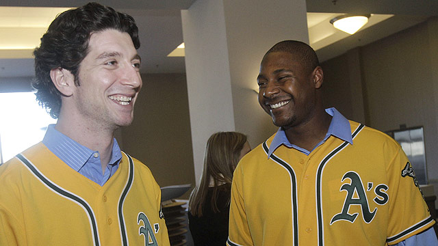 A's unveil new gold alternate home jerseys