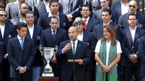 Recibidos por el presidente de México