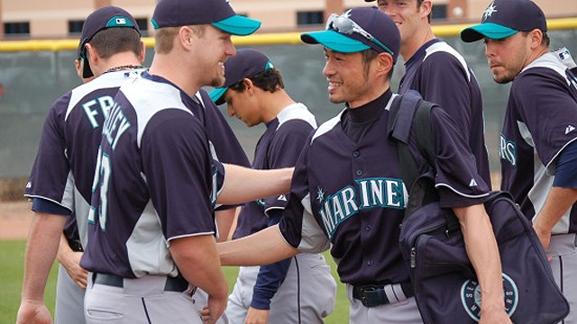 Ichiro eager to get 11th season under way
