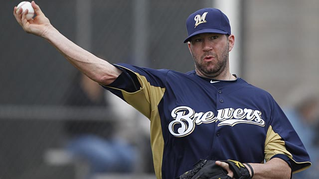 Marcum fans three in Brewers spring debut