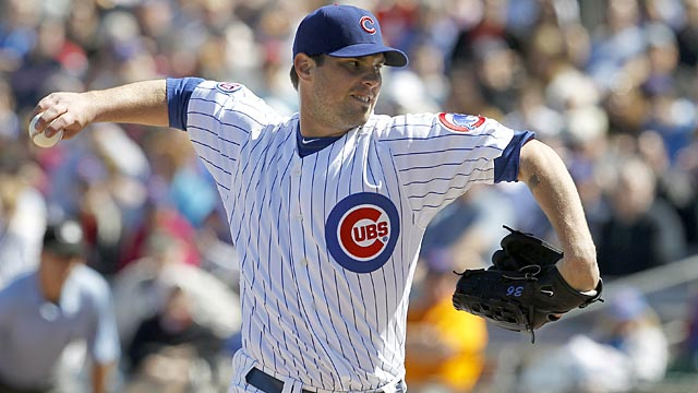 Wood tapped for two runs in Cubs' loss