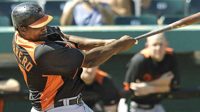 Vlad makes presence felt in O's opener