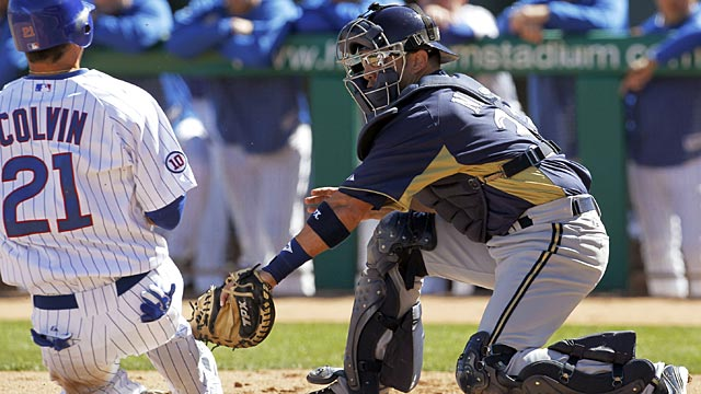 Gindl, Gomez help Brewers top Cubs