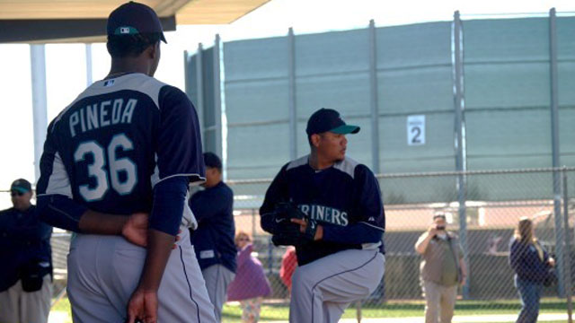Hungry Pineda makes strides in quest for spot