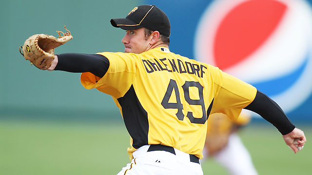 Ohlendorf excels in first Grapefruit League start
