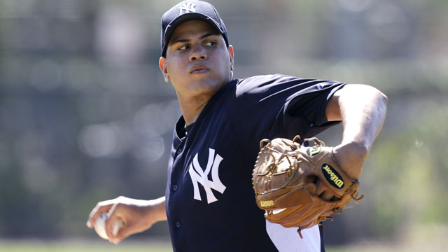 Once a fan, Betances ascending Yanks' ranks