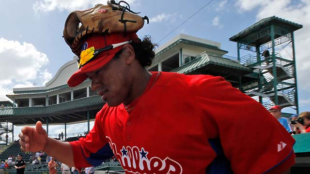 Young aims to fill role for Phillies
