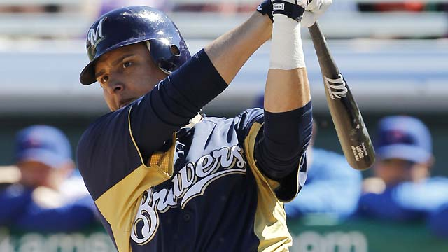 Cruz's big day highlights Brewers' comeback