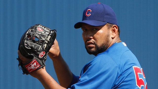 Cubs cite performance in releasing Silva