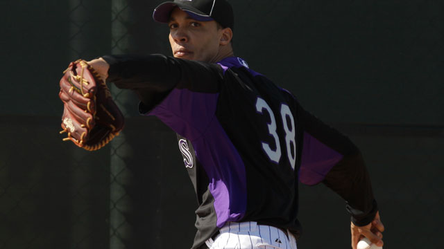 Ubaldo in mid-season form in Rockies' loss