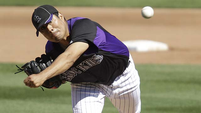 De La Rosa sensational as Rockies blank Cubs