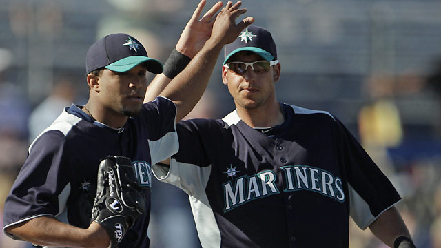 Liddi belts another slam in Mariners' win