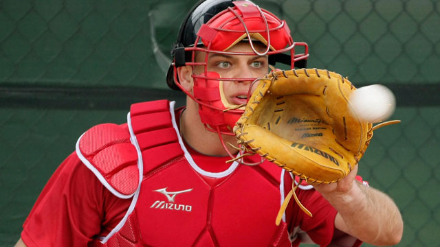 Mesoraco becoming complete catching package