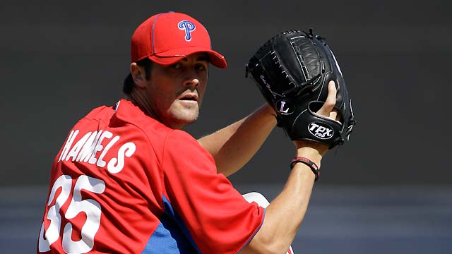 Phillies triumph, but control escapes Hamels