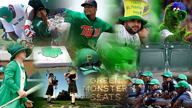 Baseball going green on St. Patrick's Day