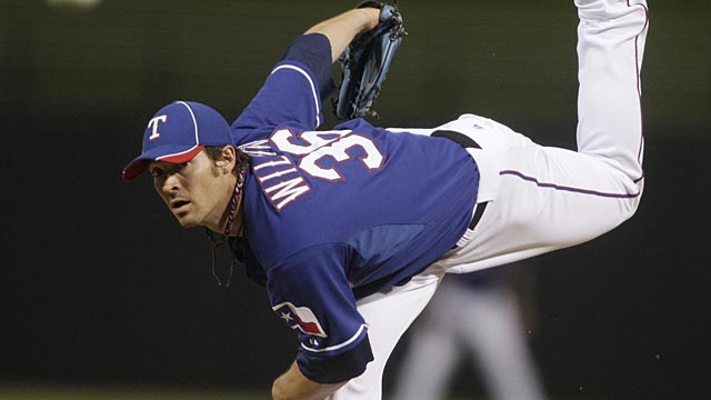 Rangers' game against Brewers rained out