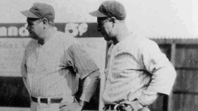 Historic film clip of Ruth and Gehrig found