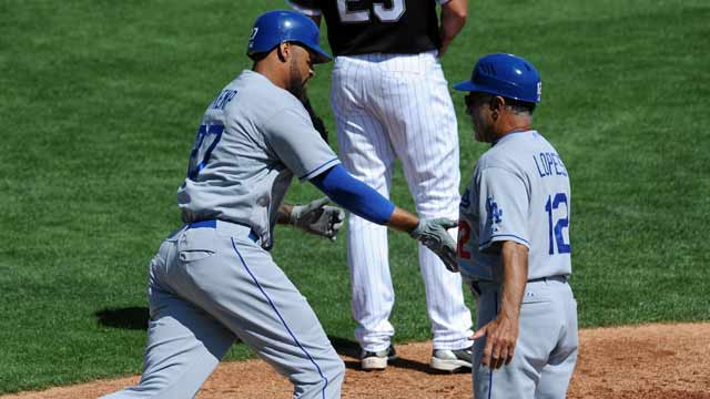 Kemp's blast backs solid Lilly in Dodgers' win