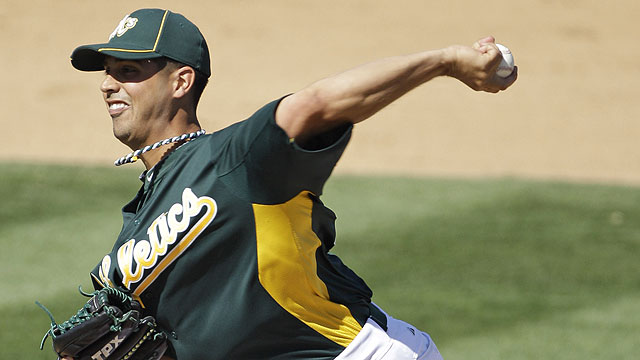 A's bats silent in Cactus League loss to Cubs