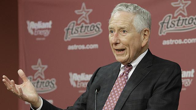 Astros owner confirms sale talks gaining steam