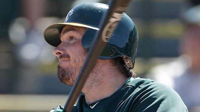 LaRoche goes deep, but A's fall to Angels