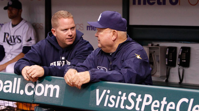 Rays' equipment manager can do it all