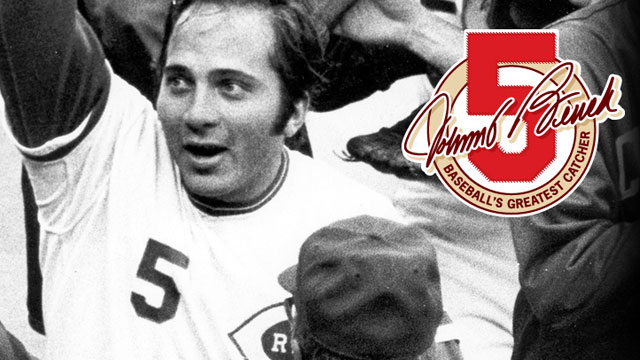Catcher Johnny Bench connects with fans