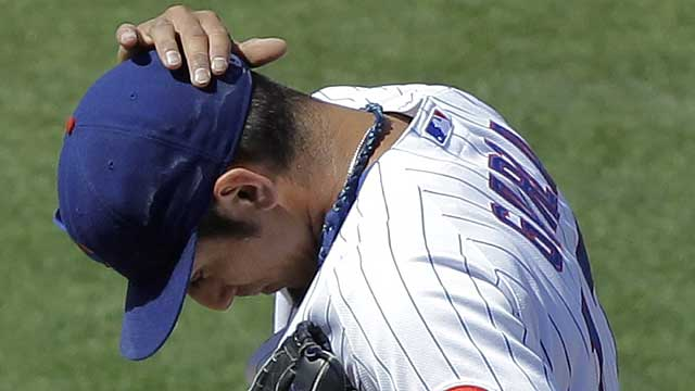 Garza happy to leave Arizona after Cubs' loss