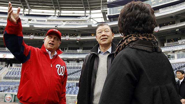 Nats owner: Opener could be pushed to Friday