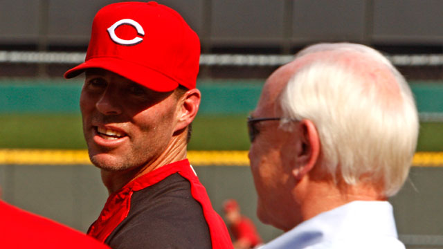 Edmonds criticizes Reds in radio interview