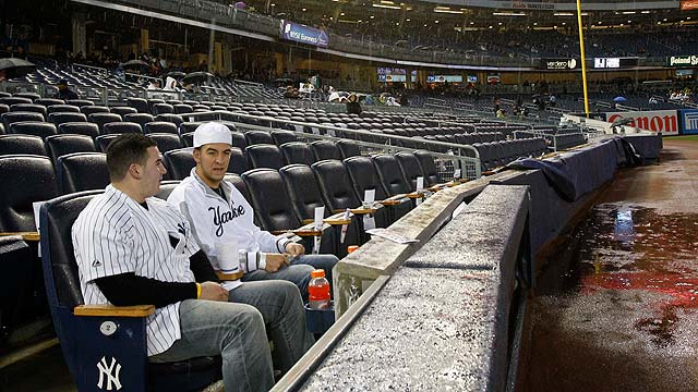Yankees' game vs. O's washed out on Tuesday