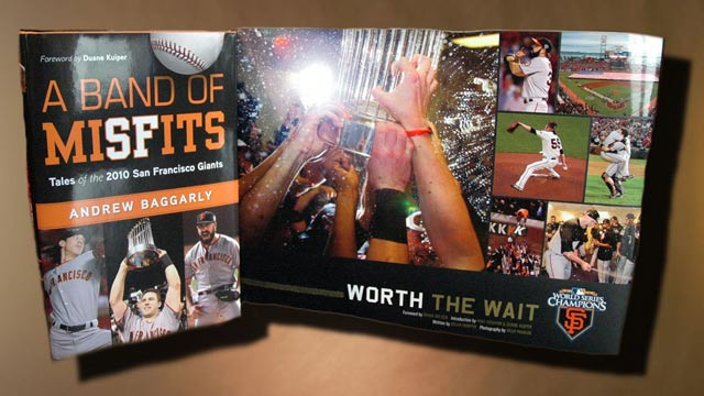 Books celebrate Giants' championship season