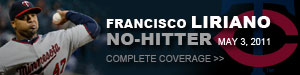 Francisco Liriano, No-hitter