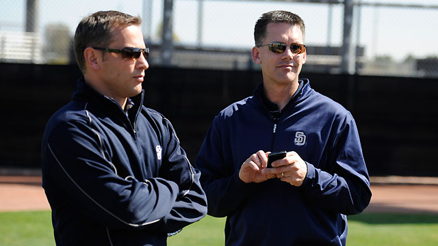 Hinch making impact on Padres' pro scouting
