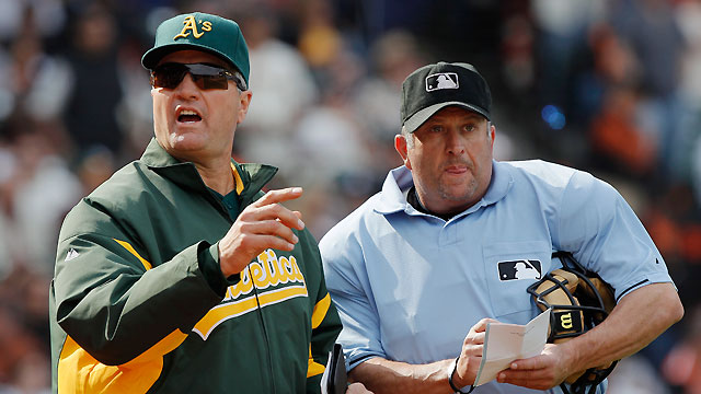 A's owner Wolff praises Geren as 'fantastic'