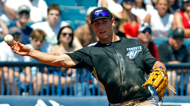 On cusp of callup, Lawrie gets plunked