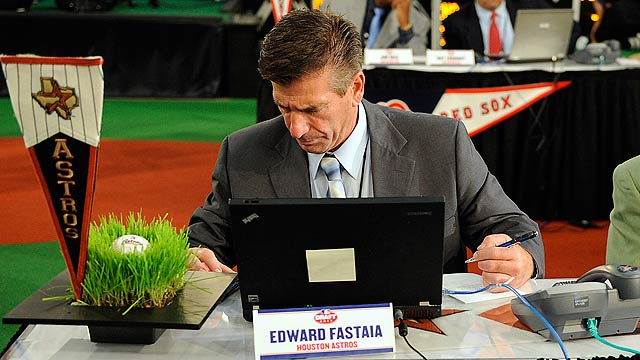 Astros scout comes full circle at Draft