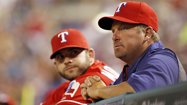 Back with Rangers, Coolbaugh comes full circle