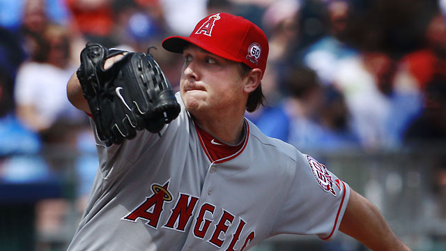 Angels part ways with struggling Kazmir