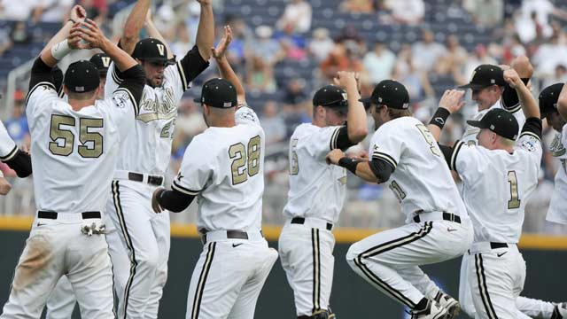 As CWS opens at new park, Vandy, Florida win