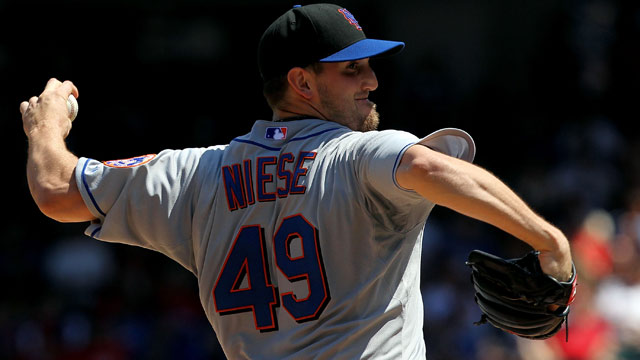 Niese: Rapid heartbeat 'really not an issue'