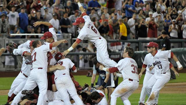 South Carolina repeats as CWS champion
