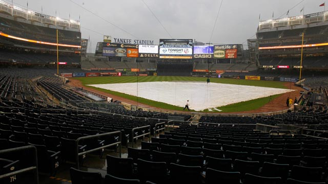 Rays-Yanks postponed, to be made up Sept. 22