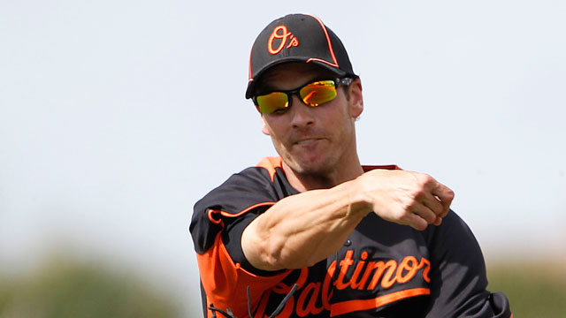 Rangers acquire infielder Green from O's