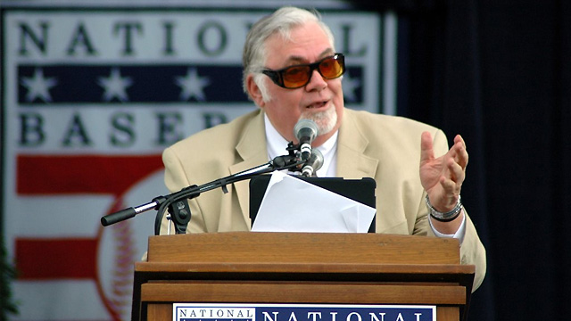 Columnist Conlin honored in Cooperstown